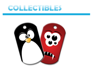 Collectibles Brag Tags