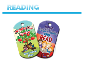 Reading Brag Tags
